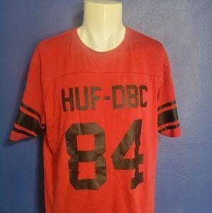 Huf Men's DBC Football Jersey T-Shirt Size XL